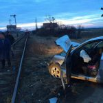 Patru oameni au murit în Lugoj după ce maşina a fost lovită de un tren