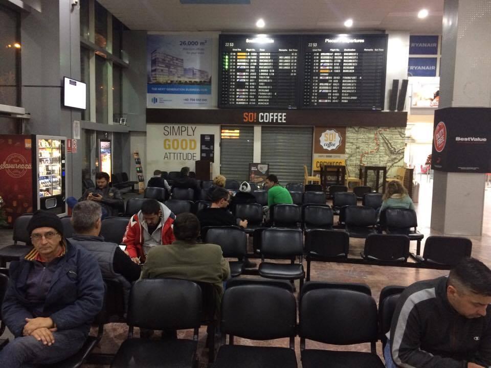Cursă reluată spre Bucureşti, de la Aeroportul Timişoara