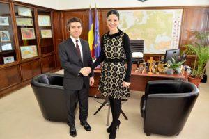 Ana Birchall, întrevedere cu ambasadorul Republicii Turcia