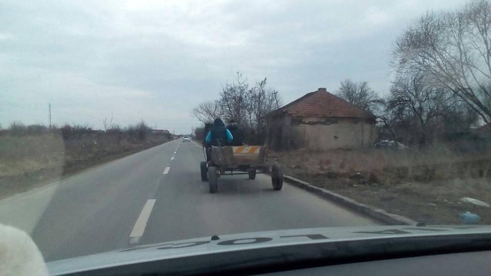 Sancționat de două ori în aceeași zi deoarece s-a deplasat cu căruța prin oraș. Atenție, se va trece la ridicarea căruțelor!