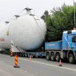 Transport agabaritic pe ruta Nădlac II – București
