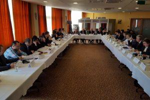 """Iustin Cionca, la Adunarea Generală DKMT:  """"Aradul este într-un program ambițios de reabilitare a infrastructurii și dezvoltare a turismului"""""""