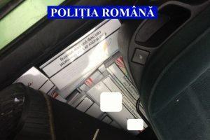 Țigări de contrabandă ridicate de polițiști