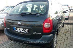 Citroen Xsara furat din Germania, descoperit în parcarea Aeroportului