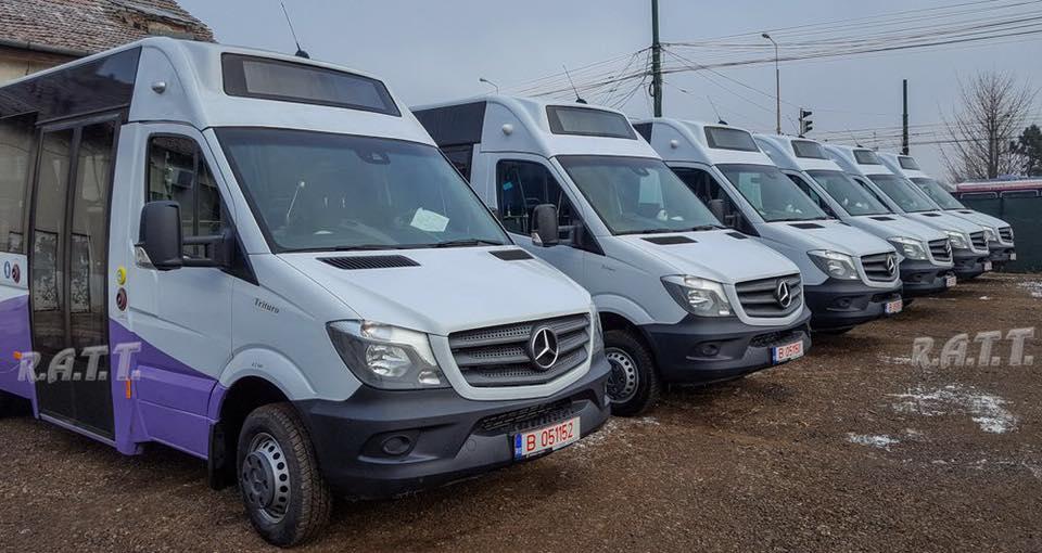 Șase microbuze achiziționate de municipalitate, înmatriculate. Când vor fi puse în circulație