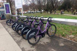 Liber la închiriat biciclete VeloTM