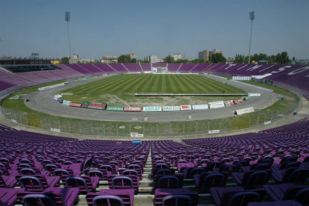Jandarmii asigură ordinea la meciul lui FC Ripensia Timişoara