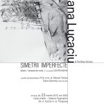 """""""Simetrii imperfecte"""", exercițiu plastic complex, semnat Adriana Lucaciu, expus în galeria Pygmalion"""