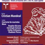 Concert simfonic al Orchestrei Române de Tineret dirijată de maestrul Cristian Mandeal