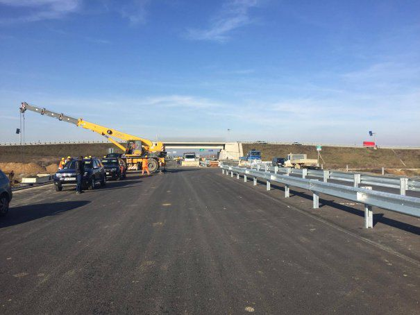 InfoTrafic: Restricții rutiere din cauza lucrărilor pe A1