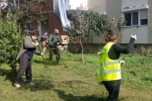 La Arad începe curăţenia de primăvară