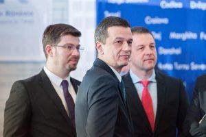 Premierul Sorin Grindeanu, la ceremonia de aderare a României la Agenția pentru Energie Nucleară