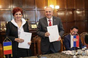 Acord de colaborare între CCIA Timiș și Camera de Comerț și Industrie Vojvodina