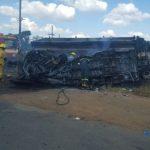 20 de elevi și-au pierdut viața într-un accident rutier