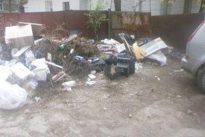 Trei sute de persoane sancționate lunar pentru aruncarea gunoaielor pe domeniul public