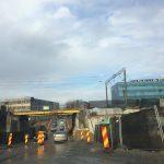 Circulație rutieră închisă la Pasajul Jiul