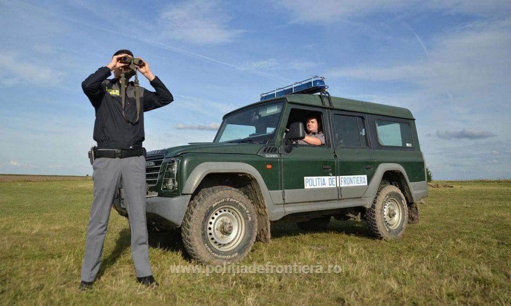 Chinez, prins când încerca să intre ilegal în România, din Serbia