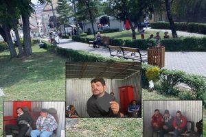 """Piața 700 """"curățată"""" de cerşetori. Pe cine a găsit Poliţia Locală printre persoanele fără adăpost"""