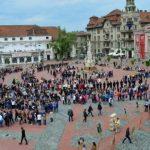 CONCENTRICA revine! Biblioteca Județeană Timiș propune cel mai inedit spectacol urban de lectură din România