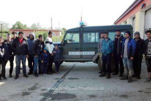 31 de migranți, opriți de poliţiştii de frontieră la granița cu Serbia