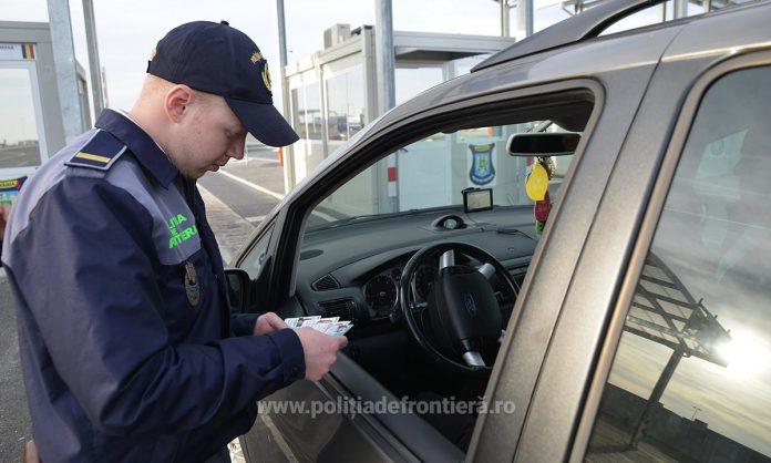 Autoturism furat din Olanda, confiscat de poliţiştii de frontieră timișeni