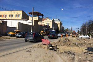 Primarul Robu, în inspecţie pe şantierul de la Popa Șapcă