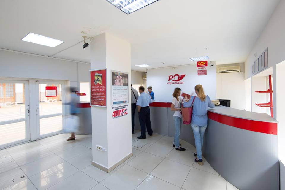Oficiile poştale şi băncile, deschise luni şi închise marţi
