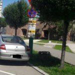 Atenție, șoferi! Nu staționați în locurile amenajate pentru staționarea autocarelor pentru turiști!