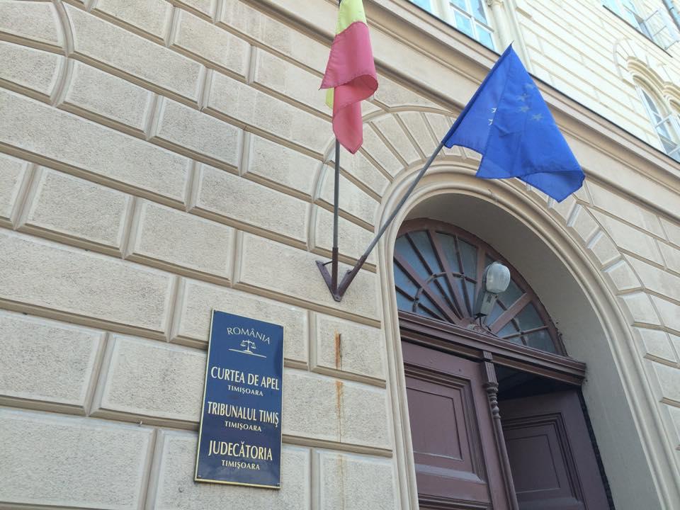 Parchetul de pe lângă Tribunalul Timiș suspendă activitatea cu publicul, în semn de protest
