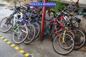 Reținut pentru furt de biciclete. Cum acționa hoțul
