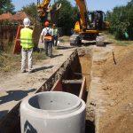Recepţia finală pentru reţelele de apă şi canalizare din Pecica