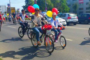 Acţiune inedită la Timişoara: IA Românească pe Bicicletă