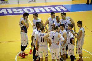 BC Timișoara joacă restanța cu Politehnica, pe noul parchet al sălii din Iași