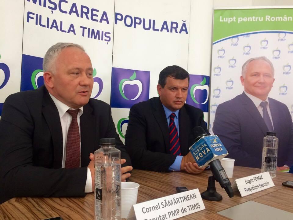 PMP rupe protocolul de colaborare de la nivelul CJT, dintre PSD, ALDE şi PMP