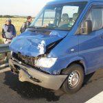 Accident pe autostrada A1, nouă persoane au fost implicate