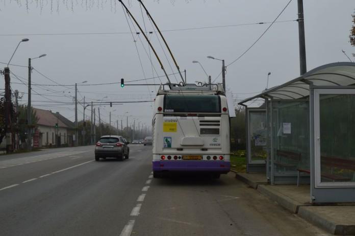O parte din şoseaua care leagă Timișoara de Dumbrăvița, lărgită la patru benzi