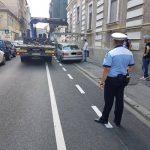 Unde le-au dat poliţiştii locali zeci de amenzi bicicliştilor şi şoferilor