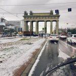 Orașul european care a fost acoperit de gheață, în toiul verii