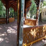 Colonada din Buziaş, vandalizată