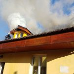 Incendiu puternic! Casă făcută scrum la Timișoara