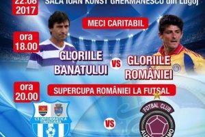 Meci caritabil înaintea Supercupei României la futsal. AJUTOR pentru Kasandra Rotariu
