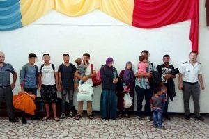Doi bărbați din Kenya și Albania, reținuți pentru călăuzirea a opt irakieni