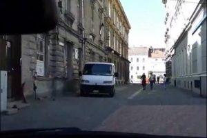 Au transmis în direct, pe Facebook, cursa nebună prin centrul istoric al Timișoarei