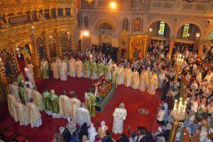 Slujbe şi procesiuni religioase. E Hramul Catedralei Mitropolitane