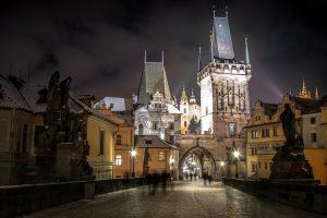 """Praga, """"oraşul de aur"""" în culorile toamnei"""
