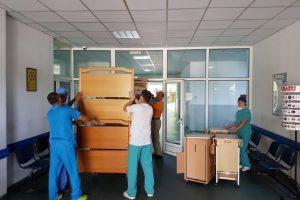 Rotary Buziaș a donat nouă noptiere Spitalului Municipal Zalău