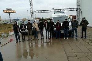 Doi bărbaţi din Sudan şi Siria, arestaţi preventiv pentru călăuzirea a şase iranieni
