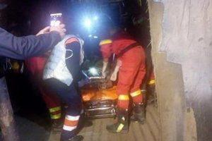 Doi mineri prinși în subteran la Mina Lupeni, în urma surpării unei galerii. Unul dintre ei a murit