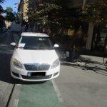 Atenție, a crescut numărul sesizărilor cu privire la blocarea căilor de acces de către autoturisme și staționarea pe pistele pentru biciclete!