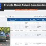 Timişorenii pot verifica situația autovehiculelor abandonate pe site-ul Poliției Locale